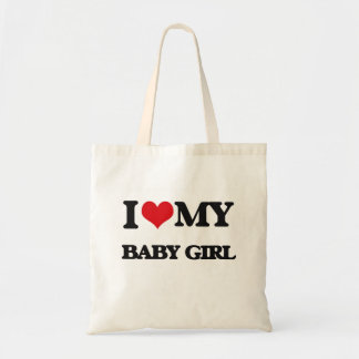 I love my Baby Girl Budget Tote Bag