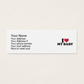 I love my baby mini business card