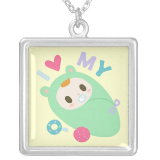 I Love My Baby Custom Jewelry