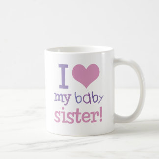 I Love My Baby Sister Kids T-Shirts & Gifts Coffee Mug