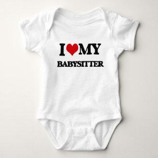 I love my Babysitter Baby Bodysuit
