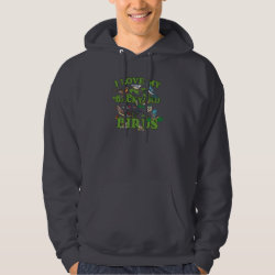 Men's Basic Hooded Sweatshirt with I Love My Backyard Birds design