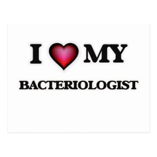 I love my Bacteriologist Postcard
