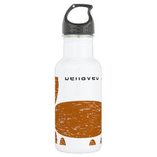 I love my badly behaved dog pet water bottle