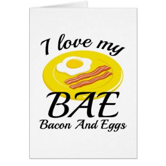 I Love My BAE Card