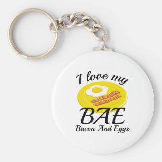I Love My BAE Keychain