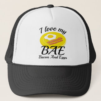 I Love My BAE Trucker Hat
