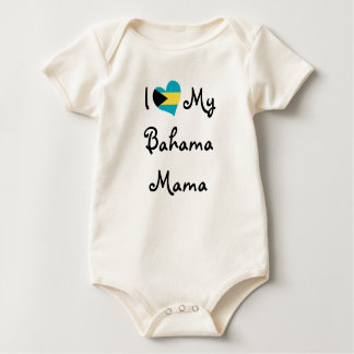 I Love My Bahama Mama Baby Bodysuit