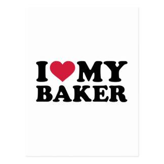 I love my Baker Postcard