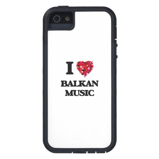I Love My BALKAN MUSIC iPhone 5 Case