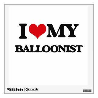I love my Balloonist Wall Sticker