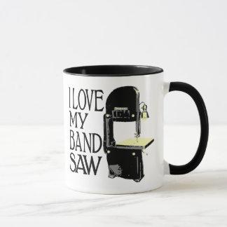 I Love My Bandsaw Mug