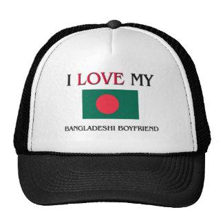 I Love My Bangladeshi Boyfriend Trucker Hat