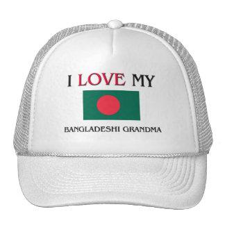 I Love My Bangladeshi Grandma Trucker Hat