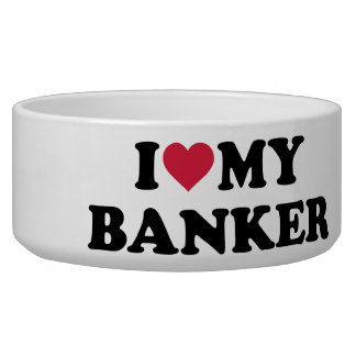 I love my banker pet water bowls