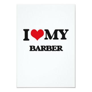 I love my Barber Personalized Invites