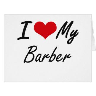 Barber Love : Love Barber Gifts - I Love Barber Gift Ideas on Zazzle