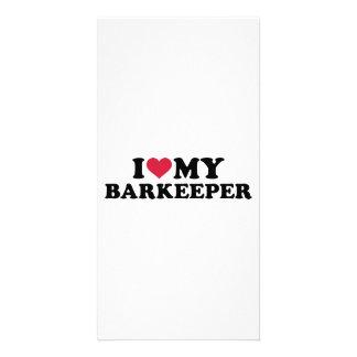 I love my Barkeeper Photo Card