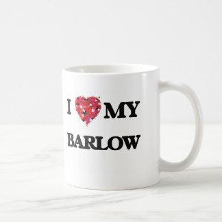 I Love MY Barlow Classic White Coffee Mug