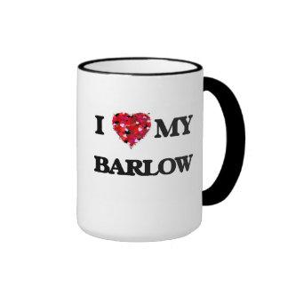 I Love MY Barlow Ringer Coffee Mug