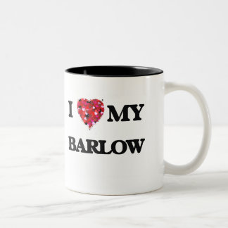 I Love MY Barlow Two-Tone Coffee Mug