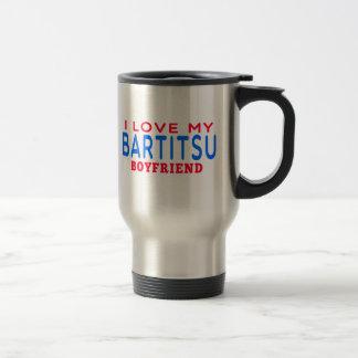I Love My Bartitsu Boyfriend 15 Oz Stainless Steel Travel Mug