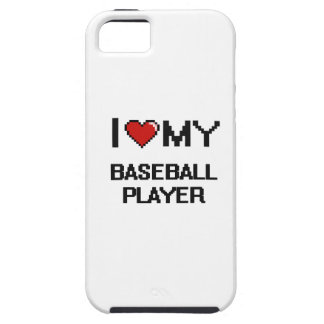I love my Baseball Player iPhone 5 Cover