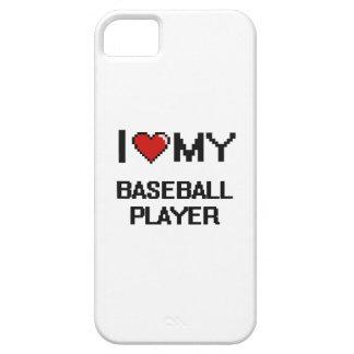 I love my Baseball Player iPhone 5 Case