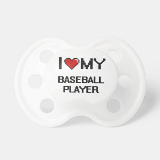 I love my Baseball Player BooginHead Pacifier