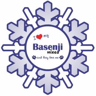 I Love My Basenji Mixes (Multiple Dogs) Cutout