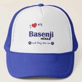 I Love My Basenji Mixes (Multiple Dogs) Trucker Hat