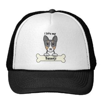 I Love My Basenji Trucker Hat