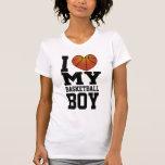 I Love My Basketball Boy Tshirts