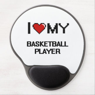 I love my Basketball Player Gel Mouse Pad