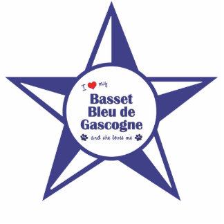I Love My Basset Bleu de Gascogne (Female Dog) Photo Cut Out