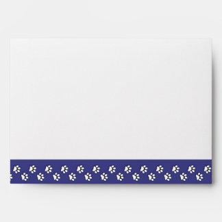 I Love My Basset Bleu de Gascogne (Male Dog) Envelopes