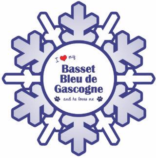 I Love My Basset Bleu de Gascogne (Male Dog) Photo Cut Outs