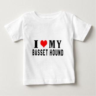 I Love My Basset Hound T-shirts