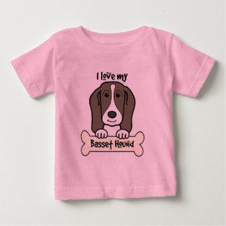 I Love My Basset Hound Tshirt
