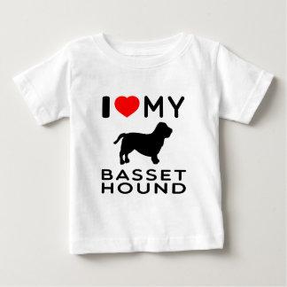 I Love My Basset Hound. Tee Shirts