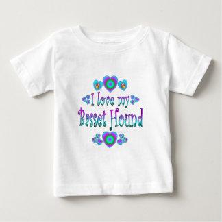 I Love My Basset Hound T-shirt