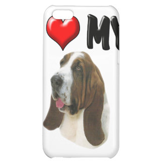 I Love My Bassett Hound iPhone 5C Cases