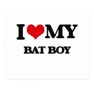 I love my Bat Boy Post Cards