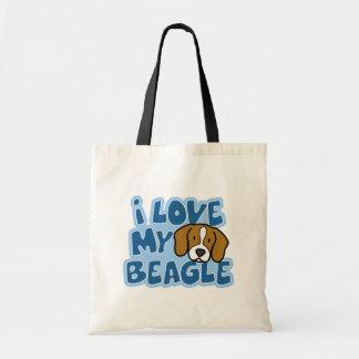 I Love My Beagle Bag
