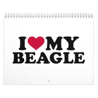 I love my Beagle Calendar