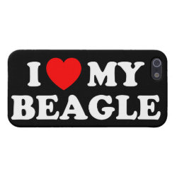 Case Savvy iPhone 5 Matte Finish Case with Beagle Phone Cases design