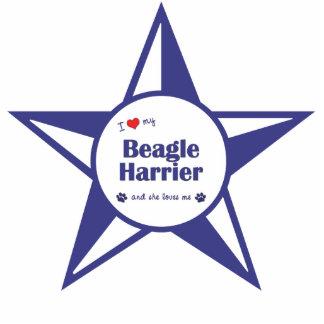 I Love My Beagle Harrier (Female Dog) Statuette