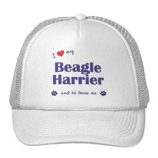 I Love My Beagle Harrier (Male Dog) Trucker Hat