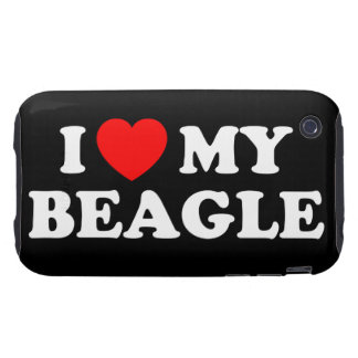 I Love my Beagle iPhone 3G/3GS Case