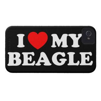 I Love my Beagle iPhone 4/4S Case